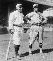 Hans Lobert, New York Giants and Joe Schultz, Brooklyn Dodgers