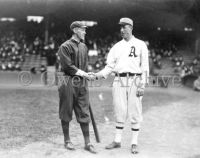 Johnny Evers and Eddie Plank, 1914